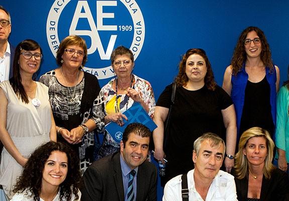 La AEDV con las asociaciones de pacientes