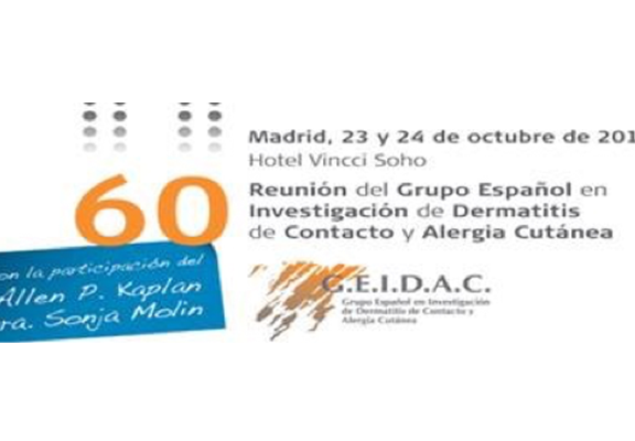 Dermatitis de Contacto y Alergia Cutánea