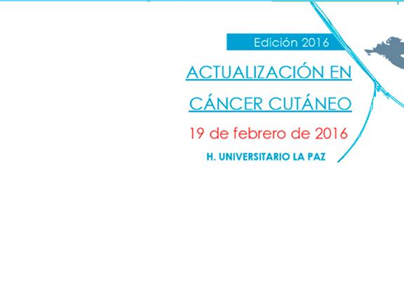 Actualización en cáncer cutáneo
