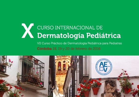 curso dermatología pediátrica