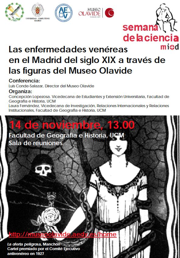 Museo Olavide en la Semana de la Ciencia
