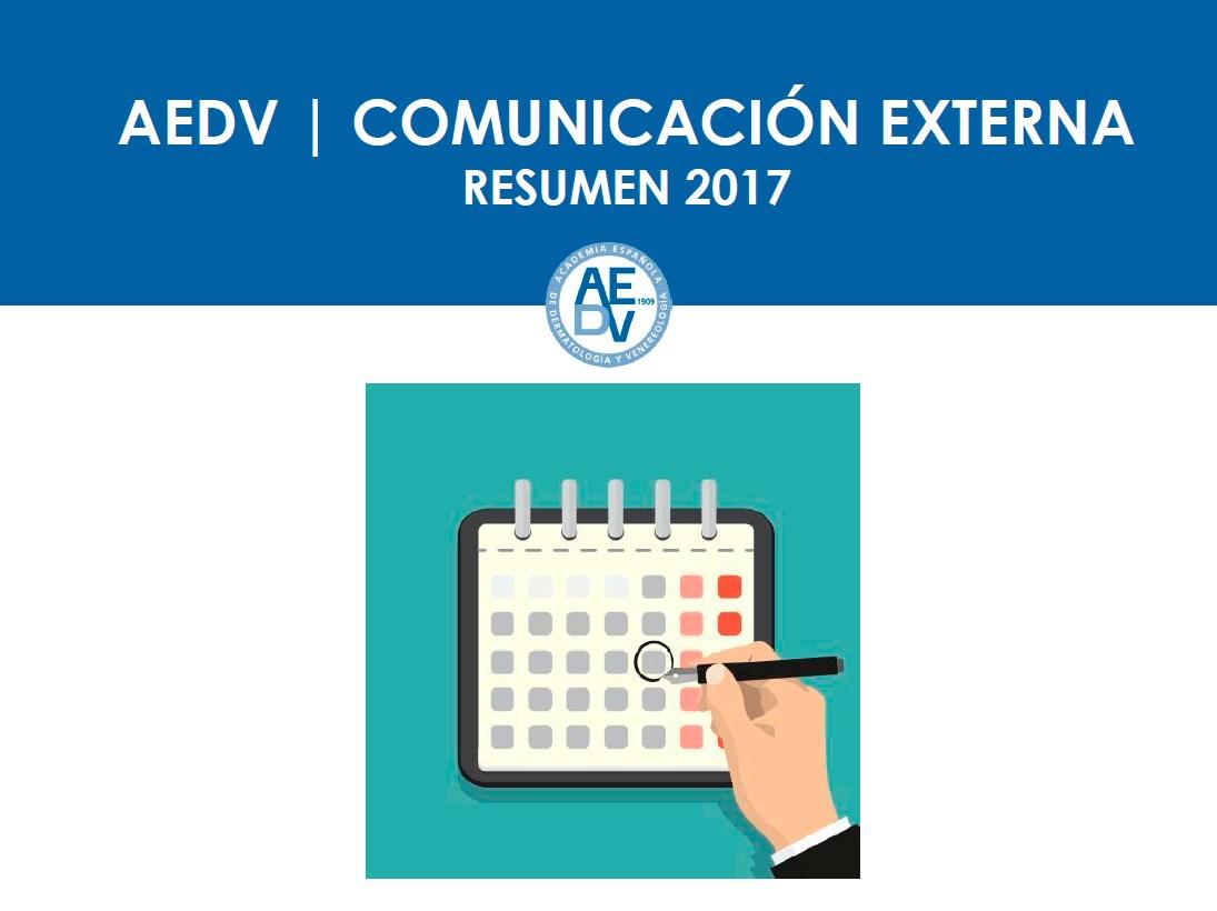 Informe Anual Comunicación Externa 2017